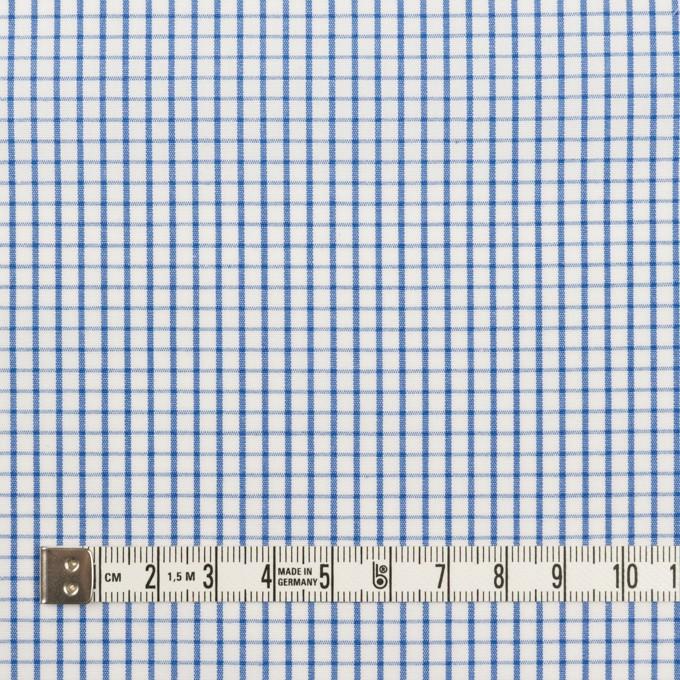 コットン×チェック(ブルー)×ブロード_全2色 イメージ4
