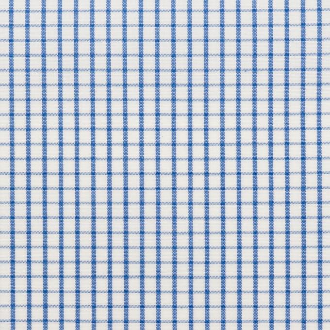 コットン×チェック(ブルー)×ブロード_全2色 イメージ1