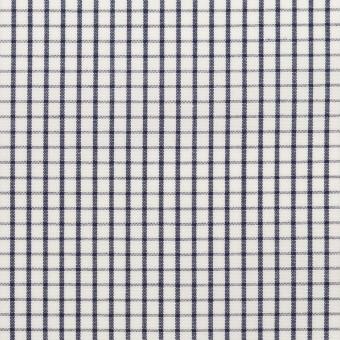 コットン×チェック(ネイビー)×ブロード_全2色 サムネイル1