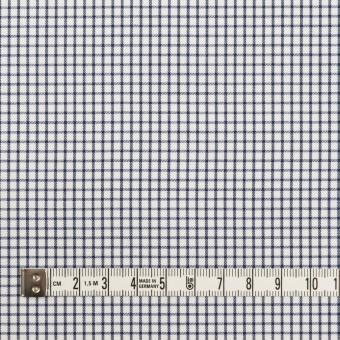 コットン×チェック(ネイビー)×サージ_全2色 サムネイル4