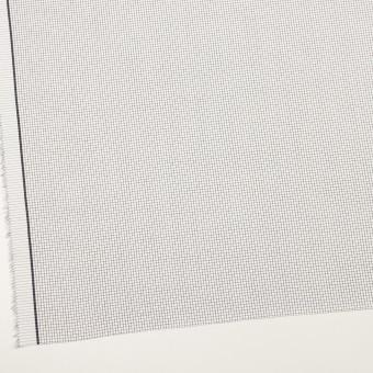 コットン×チェック(ブラック)×サテン サムネイル2