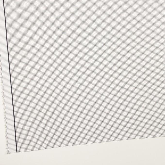 コットン×チェック(ブラック)×サテン イメージ2