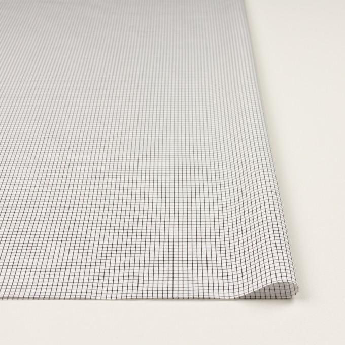 コットン×チェック(ブラック)×サテン イメージ3