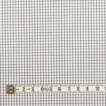 コットン×チェック(ブラック)×サテン サムネイル4