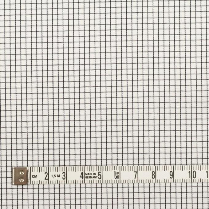 コットン×チェック(ブラック)×サテン イメージ4