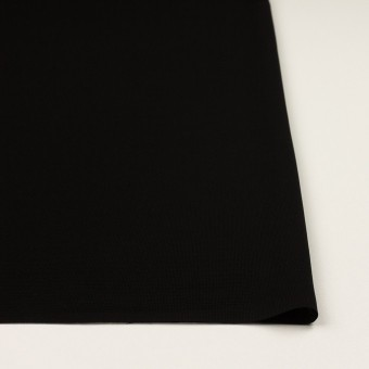 ポリエステル×無地(ブラック)×かわり織 サムネイル3