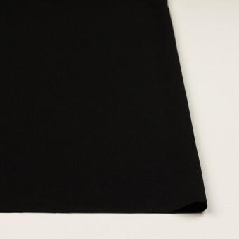 ポリエステル&トリアセテート×無地(ブラック)×バックサテン・ジョーゼット サムネイル3