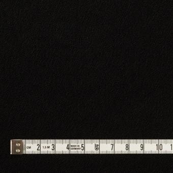 ポリエステル&トリアセテート×無地(ブラック)×バックサテン・ジョーゼット サムネイル6