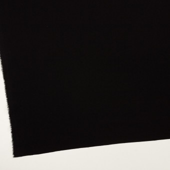 トリアセテート&ポリエステル×無地(ブラック)×バックサテン・ジョーゼット サムネイル2