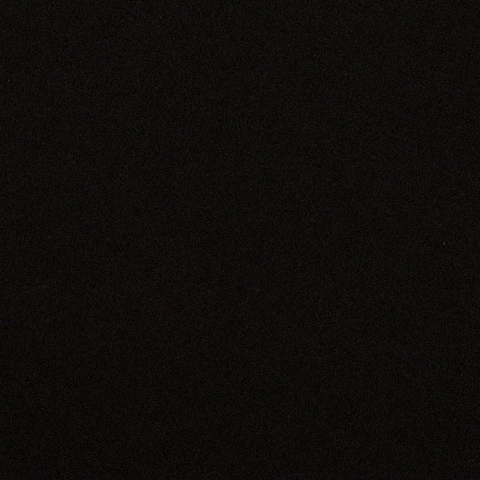 トリアセテート&ポリエステル×無地(ブラック)×バックサテン・ジョーゼット イメージ1