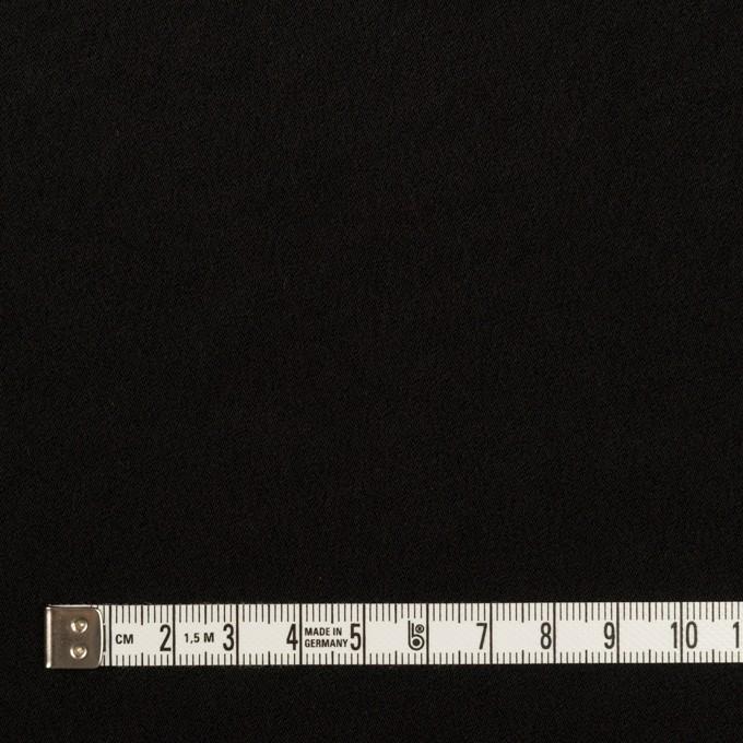 トリアセテート&ポリエステル×無地(ブラック)×バックサテン・ジョーゼット イメージ6