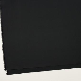 コットン&シルク×無地(チャコールブラック)×二重織 サムネイル2