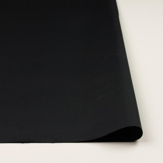 コットン&シルク×無地(チャコールブラック)×二重織 イメージ3