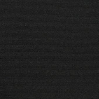 コットン&シルク×無地(チャコールブラック)×二重織