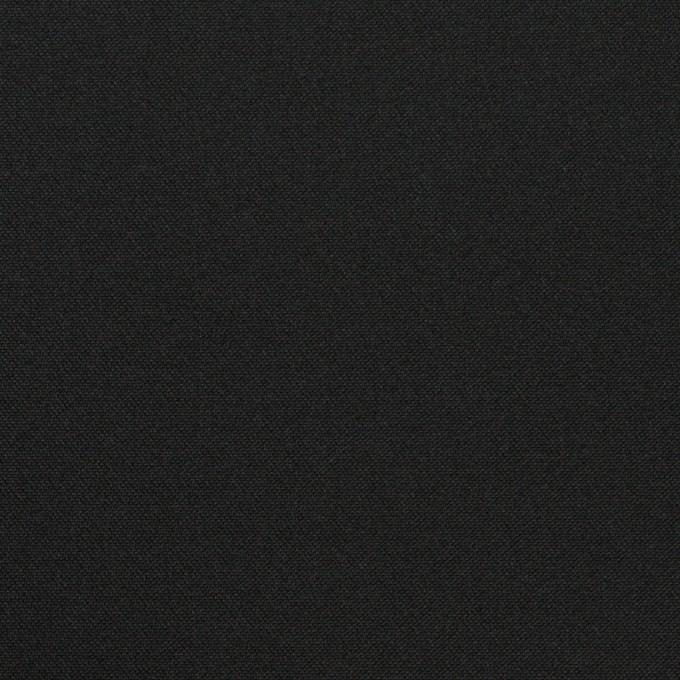 コットン&シルク×無地(チャコールブラック)×二重織 イメージ1