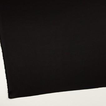 トリアセテート&ポリエステル×無地(ブラック)×サージ サムネイル2