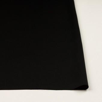トリアセテート&ポリエステル×無地(ブラック)×サージ サムネイル3