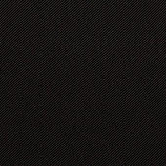 トリアセテート&ポリエステル×無地(ブラック)×サージ
