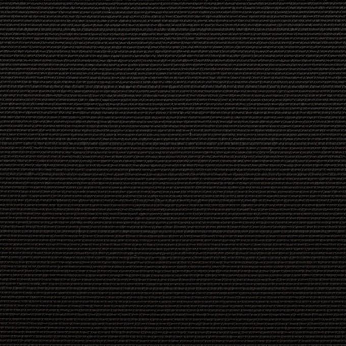 トリアセテート&ポリエステル×無地(ブラック)×グログラン イメージ1