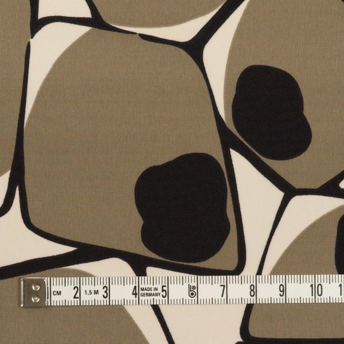ポリエステル×ペイント(ベージュグレー&ブラック)×ローン イメージ4