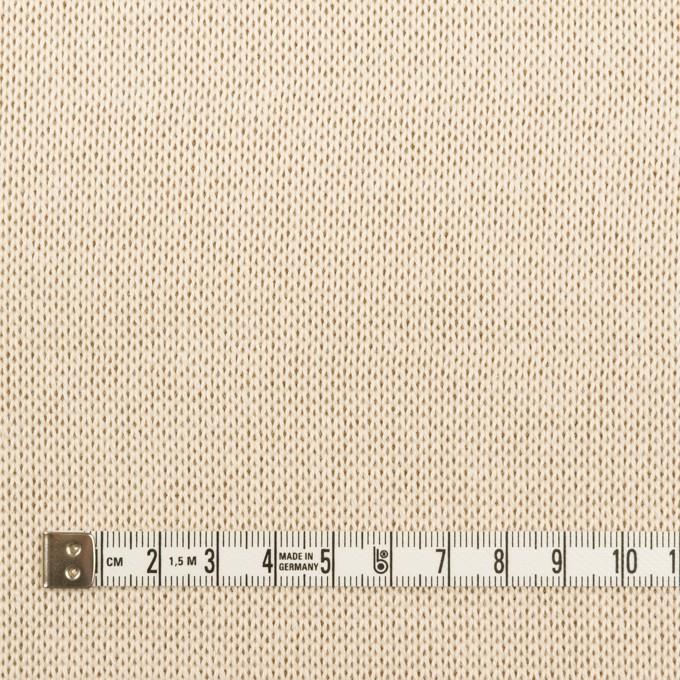 コットン&レーヨン×無地(エクリュ&モカ)×Wニット イメージ4
