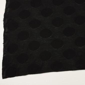 コットン&レーヨン混×オーバル(ブラック)×ジャガードニット サムネイル2