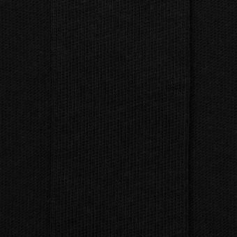 コットン×ストライプ(ブラック)×ジャガードニット
