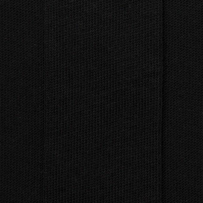 コットン×ストライプ(ブラック)×ジャガードニット イメージ1