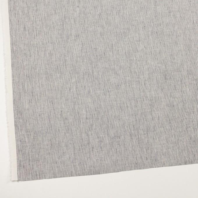 コットン&リネン×ストライプ(ミルク&ネイビー)×薄キャンバス イメージ2