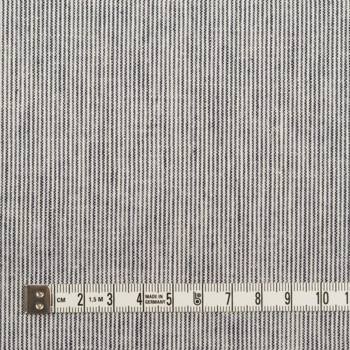 コットン&リネン×ストライプ(ミルク&ネイビー)×薄キャンバス イメージ4