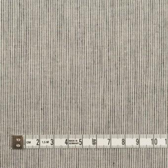 コットン&リネン×ストライプ(アイボリー&ブラック)×シーチング サムネイル4