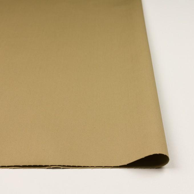コットン&ポリウレタン×無地(ライトカーキ)×チノクロス・ストレッチ イメージ3