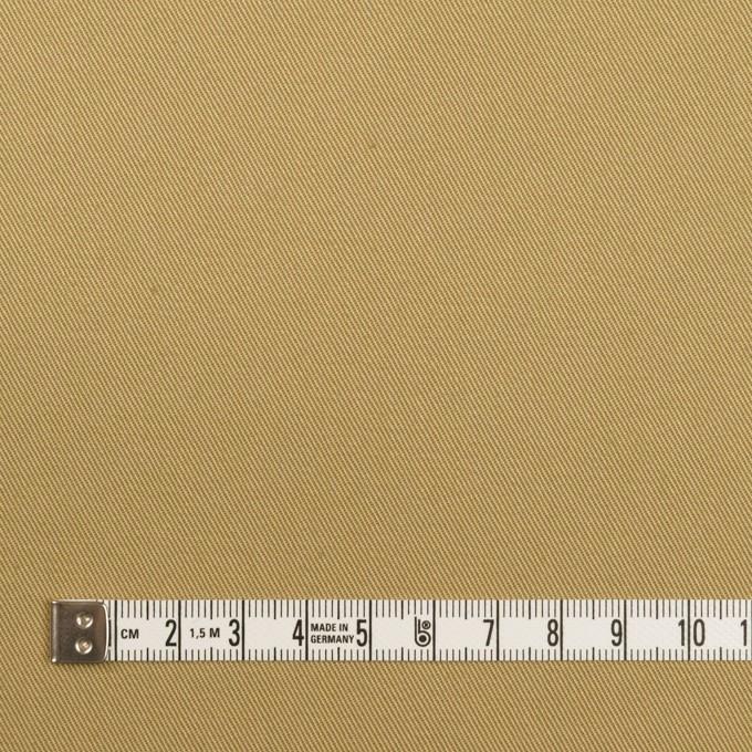 コットン&ポリウレタン×無地(ライトカーキ)×チノクロス・ストレッチ イメージ4