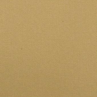 コットン&ポリウレタン×無地(ライトカーキ)×チノクロス・ストレッチ