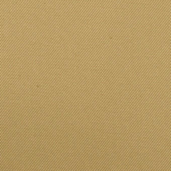 コットン&ポリウレタン×無地(ライトカーキ)×チノクロス・ストレッチ イメージ1