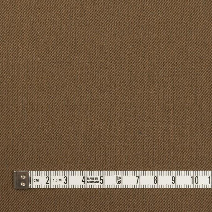 コットン&ポリエステル×無地(ブロンズ)×チノクロス イメージ4