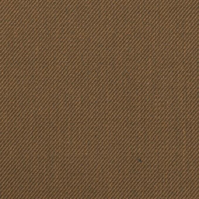 コットン&ポリエステル×無地(ブロンズ)×チノクロス イメージ1