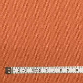 コットン&ポリウレタン×無地(コーラルオレンジ)×チノクロス・ストレッチ サムネイル4