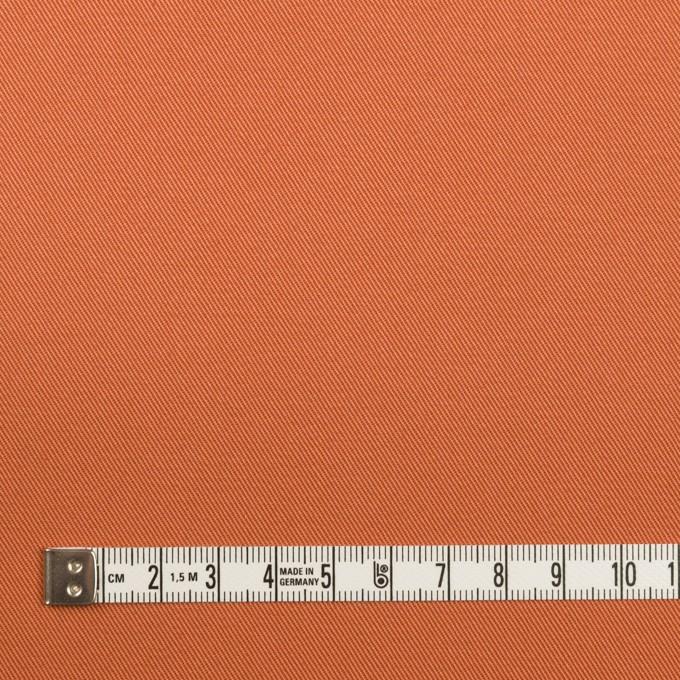 コットン&ポリウレタン×無地(コーラルオレンジ)×チノクロス・ストレッチ イメージ4