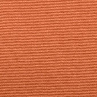 コットン&ポリウレタン×無地(コーラルオレンジ)×チノクロス・ストレッチ