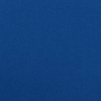 コットン×無地(ロイヤルブルー)×チノクロス