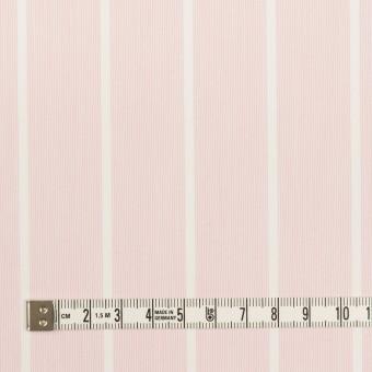 コットン&ポリエステル×ストライプ(ピンクベージュ)×ローン サムネイル4