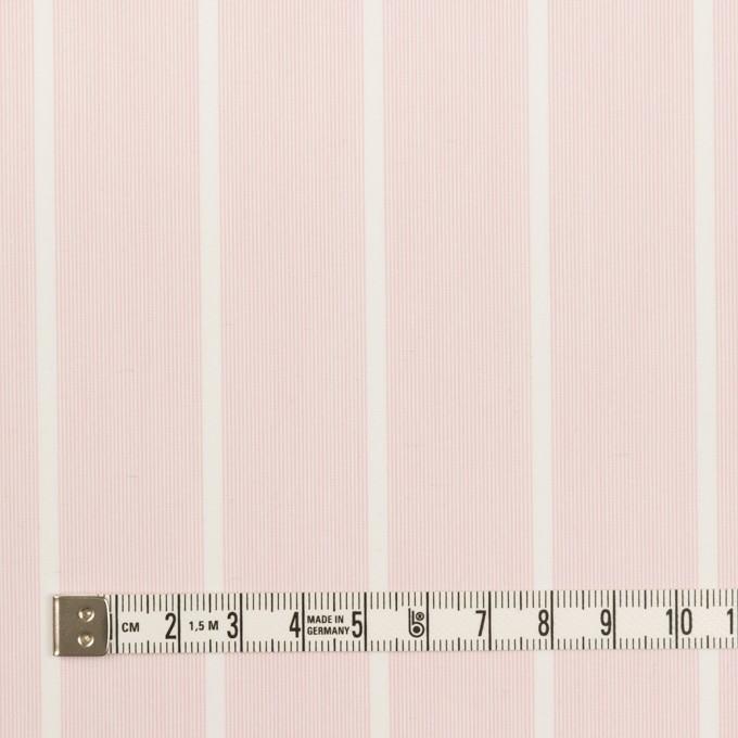 コットン&ポリエステル×ストライプ(ピンクベージュ)×ローン イメージ4