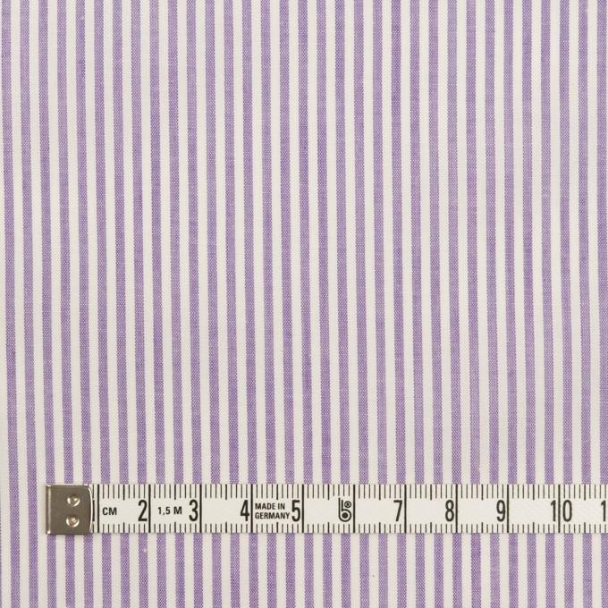 コットン×ストライプ(ラベンダー)×ローン イメージ4