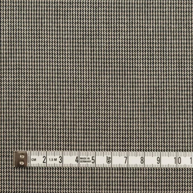 コットン×千鳥格子(エクリュ&ブラック)×キャンバス イメージ4