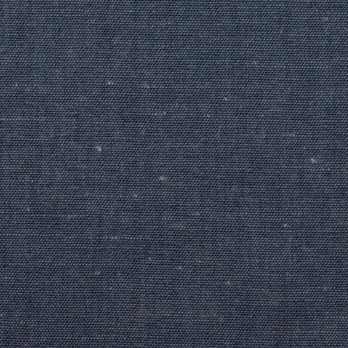 コットン&リネン×無地(インディゴブルー)×セルビッジ・ダンガリー イメージ1