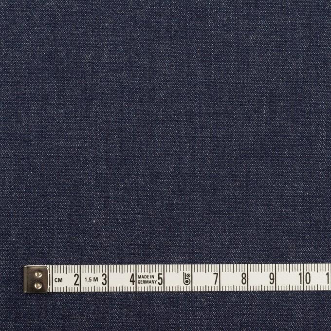 コットン&ポリウレタン×無地(インディゴ)×デニムストレッチ(7.5oz) イメージ4