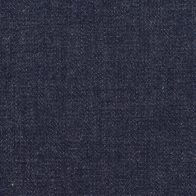 コットン&ポリウレタン×無地(インディゴ)×デニムストレッチ(7.5oz) イメージ1