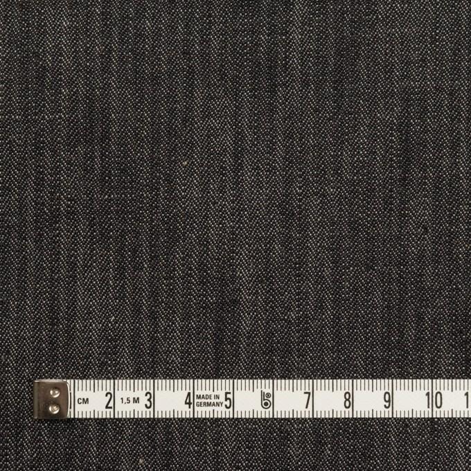 コットン×無地(インディゴ)×ヘリンボーン・デニム(11oz) イメージ4