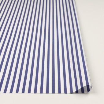 コットン×ストライプ(ブルー)×ブロード_全2色 サムネイル3